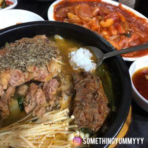東輝韓食館 馬鈴薯豬骨湯