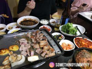 東輝韓食館 松五梅套餐