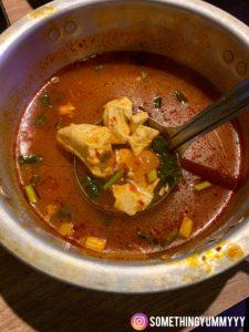 小班韓式烤腸 豆腐湯